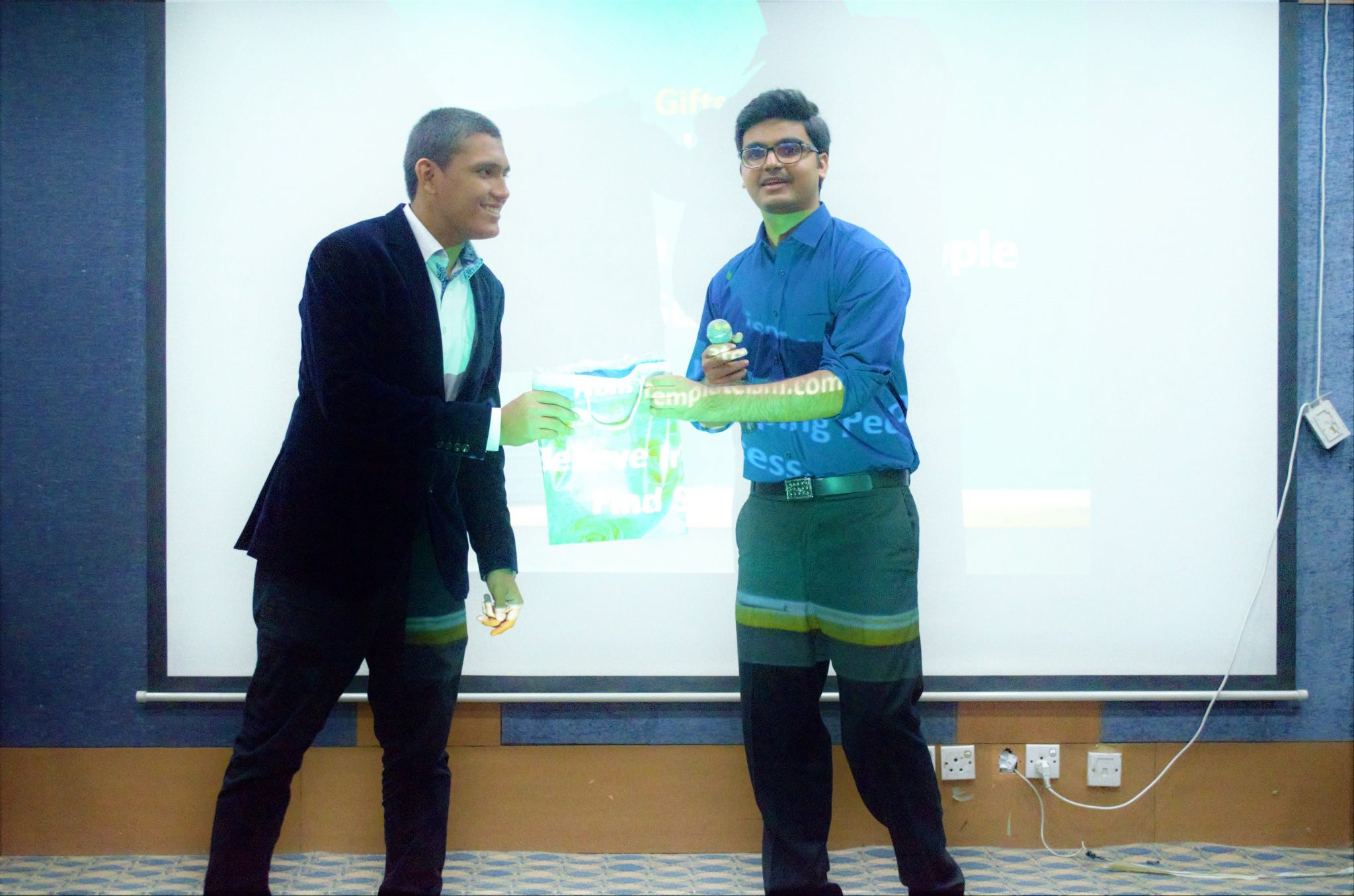 Getting Gift For The Speech